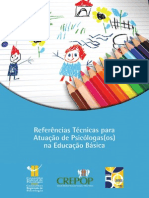 Referências Técnicas Para Atuação Psicólogos Na Educação Básica