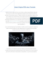 BatmanArkhamOriginsPS3JeuxTorrents