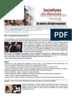 150921 - Lettre d'Info PS84
