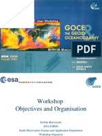 01 Benveniste GOCE WS Objective Organisation