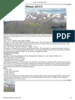 Climbing route Nevado Chicon