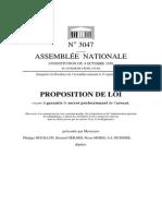 Proposition de Loi Visant à Garantir Le Secret Professionnel de l'Avocat, 15 Sept. 2015
