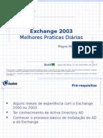 Melhores Praticas Exchange 2000_2003