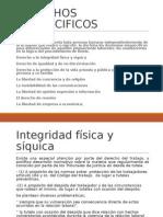 (6)Derechos Inespecificos