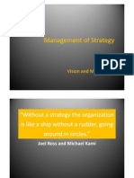 2 Mgt of Strategy Vision and Mission