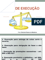 Aula IV - Tipos de Execução