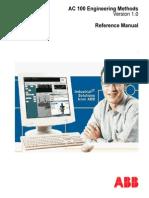 3BSE023698R101 - En AC 100 Engineering Methods 1.0 - Reference Manual