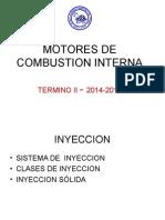 Motores de combustión - Inyeccion
