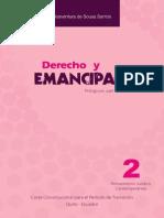 Derecho y Emancipación - Boaventura de Sousa Santos