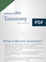 blooms taxonomy brett