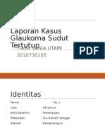 Glaukoma Primer Akut Sudut Tertutup