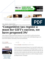 'Competitive Tax Regime a Must for GIFT's Success, We Have Proposed 3%' _ the Indian Express