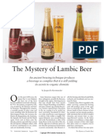 The Mystery of Lambic Beer
