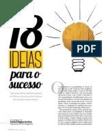 18 Ideias Para o Sucesso