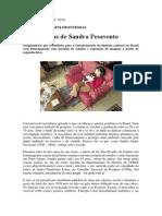 Sete vidas de Sandra Pesavento