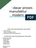 Dasar-dasar Proses Manufaktur Modern