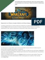 Historia Warcraft 1
