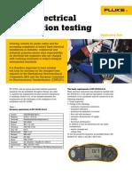 20145122 Fluke Appnotes Basic Electrical Install Testing