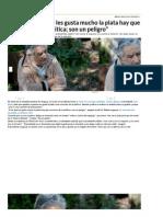 Mujica_ a Los Que Les Gusta Mucho La Plata Hay Que Correrlos de La Política; Son Un Peligro _ Elecciones en Uruguay, José Mujica, Uruguay - América