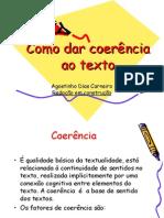 Como Dar Coerência Ao Texto