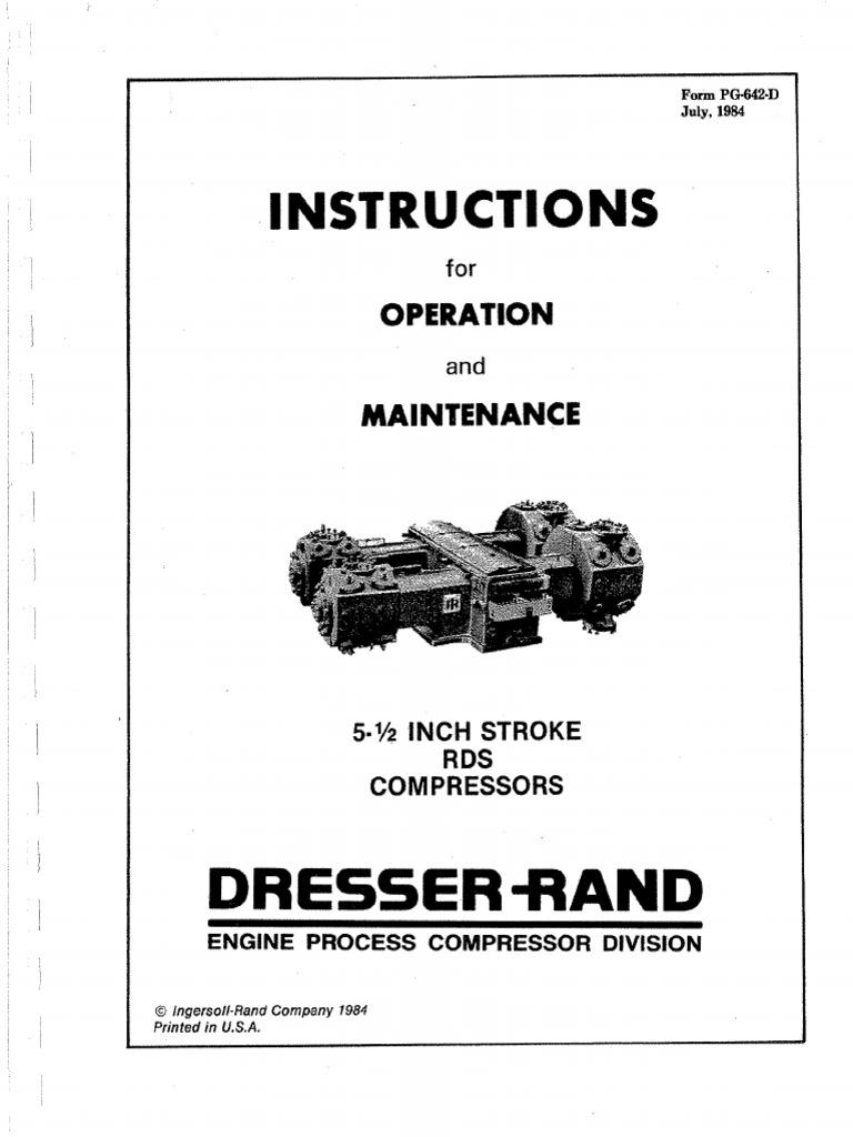 Compresor Rds Dresser Rand