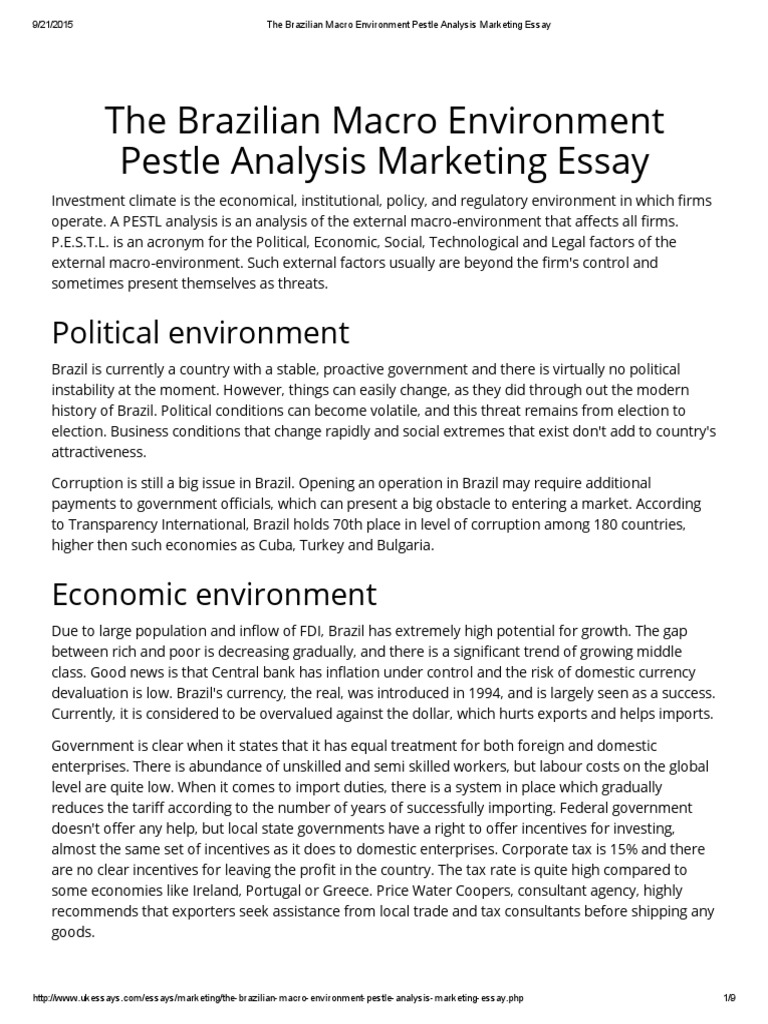 the ian macro environment pestle analysis marketing essay the ian macro environment pestle analysis marketing essay franchising competition