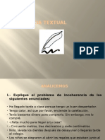 Coherencia Textual - Ppt