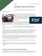 Cómo Es El Sistema Por El Que Trabajan 22.000 Presos en Las Cárceles Argentinas - Lanacion