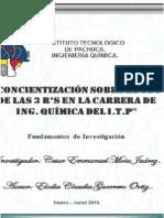 ejemplo de proyecto de fundamentos de la investigacion