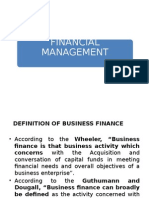 1 Financial Management
