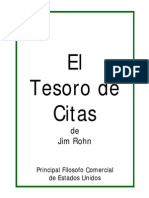 El Tesoro de Citas de Jim Rohn