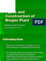 Types and Construction of Biogas Plant.ppt