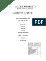 Marcet Boiler Report