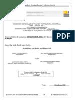 Secuencia Matematicas Aplicadas 20091
