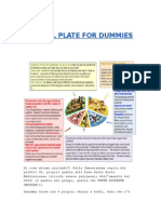 Regola Del Piatto - Eat Well Plate for Dummies