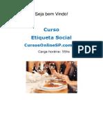 Curso Etiqueta Social