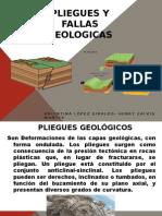 Pliegues y Fallas Geologicas