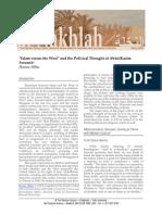 Islam y Occidente en el pensamiento de Soroush
