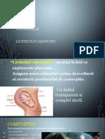Patologiile lichidului amniotic