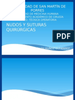 2.2-Nudos y Suturas Quirúrgicas (Clase Magistral 2)
