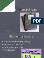 Libretas interactivas