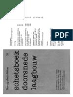 Schetsboek Doorsnede Laagbouw A5