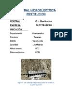 244028752 Central Hidroelectrica Restitucion Docx