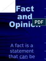fact or opinion  1