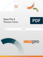 Info Vista Pro 5 Release Notes