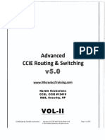 Narbik CCIE RnS Advance- V5-Vol1