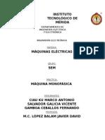 Reporte Máquinas Electricas