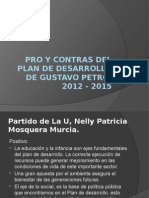 Pros y Contras de Gustavo Petro