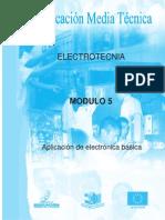 Electrotecnia año1 modulo 5 ELECTRONICA BASICA