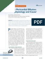Efusion Pericardica